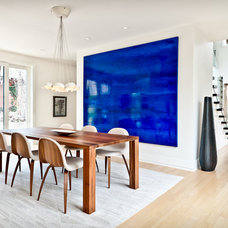 Contemporary Dining Room by Kimberly Demmy Design