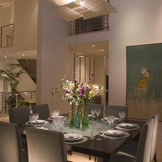 Modern Dining Room by Pamela Pennington Studios