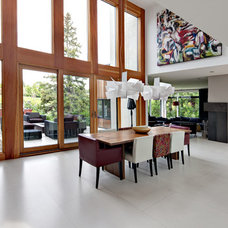 Contemporary Dining Room by Rusch Projects