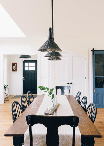 Farmhouse Dining Room by Dessa Lea Productions