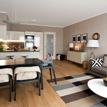 Modern interior for young family