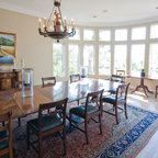 Southern Living Idea Home Tropical Dining Room Tampa