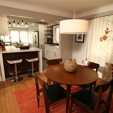 Modern Dining Room by Kelli Kaufer Designs
