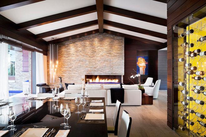 Modern Dining Room by Philip Nimmo Design