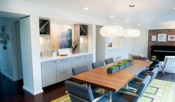 Modern Living + Dining Room