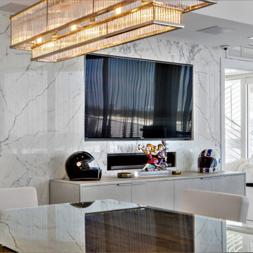 Modern Living Room / Dinning In South Beach Miami
