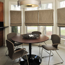 Modern Dining Room by Beckwith Interiors