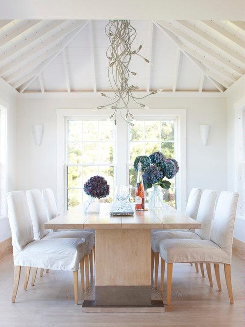 white slipcovered dining room chairs. decor best slipcover for