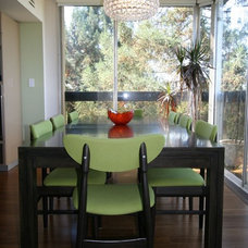 Modern Dining Room Modern makeover in Downtown Palo Alto