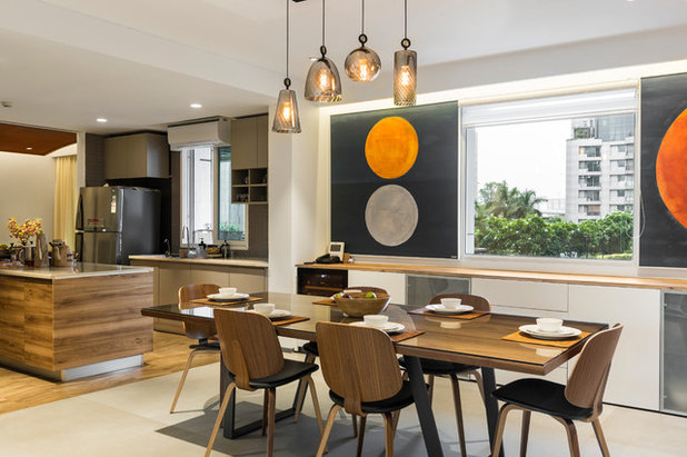 Contemporary Dining Room by Studio Wood