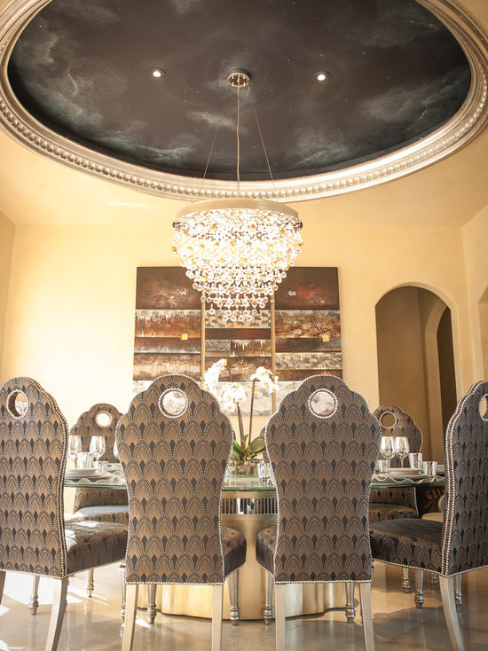 moroccan dining room | houzz