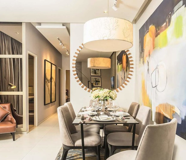 Contemporary Dining Room by The svelte designs