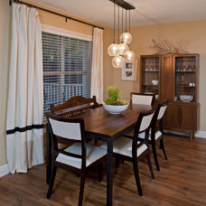 Contemporary Dining Room by Christen Ales Interior Design
