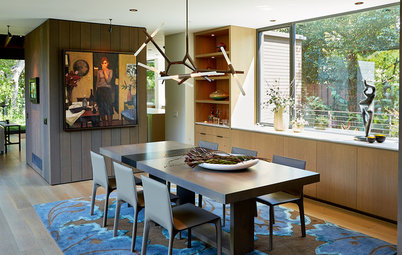 Designer Gives a New Home Midcentury-Inspired Style