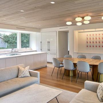 Modern Open Plan Living, Dining, Kitchen