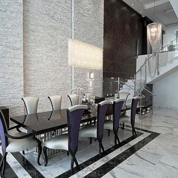 Modern Penthouse in Miami at Jade Ocean Designed by Pfuner Design