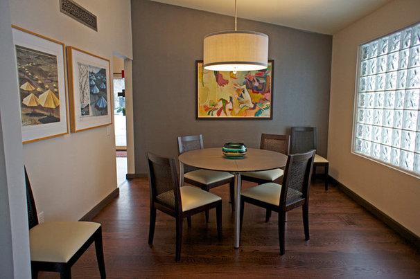 Modern Dining Room by Blue Desert Interiors