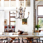 Hamptons Cottage Traditional Dining Room New York