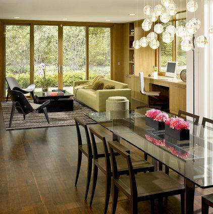 Modern Family Room by Scott Simpson Builders