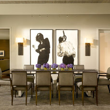 Contemporary Dining Room by Scott Simpson Builders