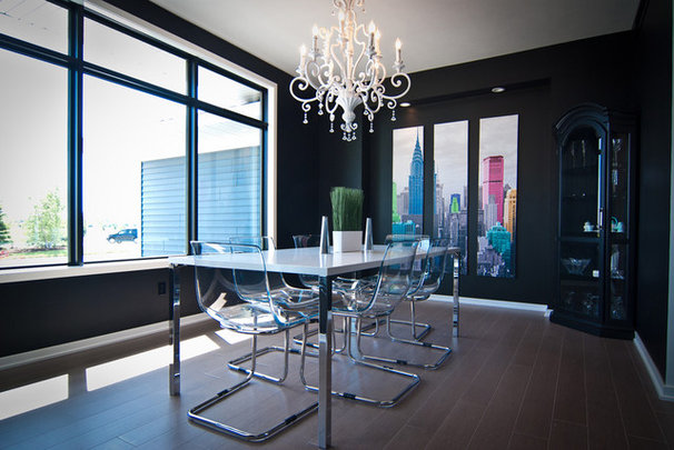 Modern Dining Room by Woodways