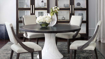 Modern Round Dining Table & Chairs