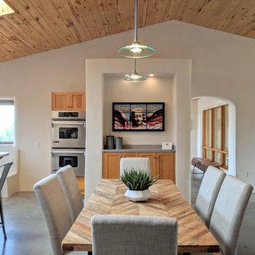 Modern Santa Fe Southwestern Home