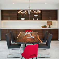 Contemporary Dining Room by Streamline Development