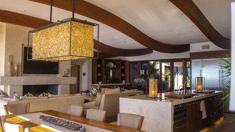 MODERN STYLE BEACH HOUSE IN SAN CLEMENTE, CALIFORNIA.