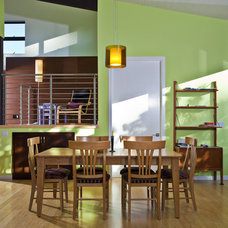 Modern Dining Room by Noel Cross+Architects