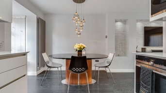Modern Townhouse Dining Area