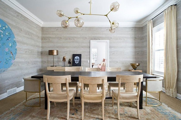 Fusion Dining Room by Benjamin Dhong Interiors