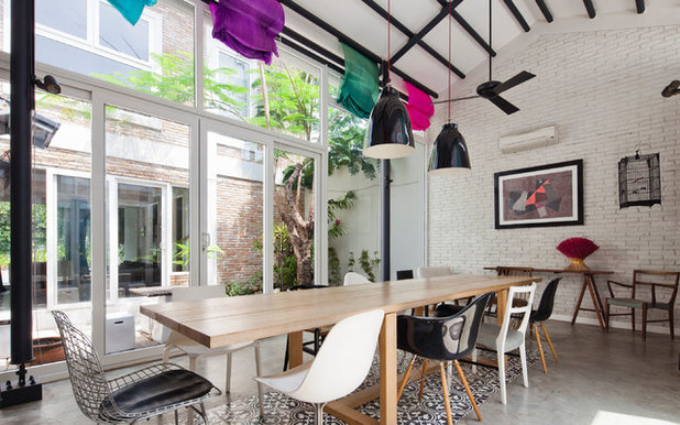 Industrial Dining Room by MimAnystudio