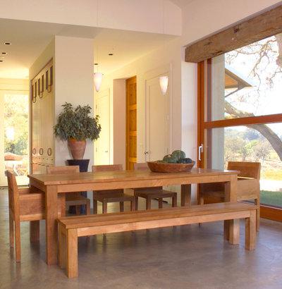 Contemporary Dining Room by Sutton Suzuki Architects