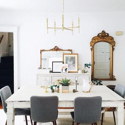 Contemporary Dining Room by Shalmai Keim Interiors