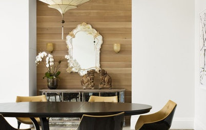 Warm Up to Wood for an Eye-Catching Wall