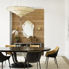 modern dining room by Risinger Homes
