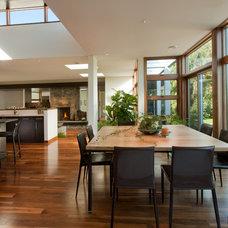 Contemporary Dining Room by The Chuba Company