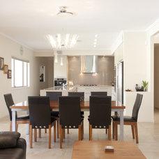 Modern Dining Room by Lee Hardcastle