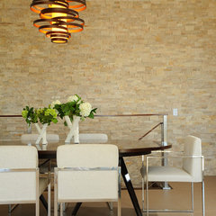 contemporary dining room by DTM INTERIORS