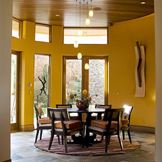 Contemporary Dining Room by SCA Design