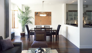 how to arrange furniture in long narrow spaces