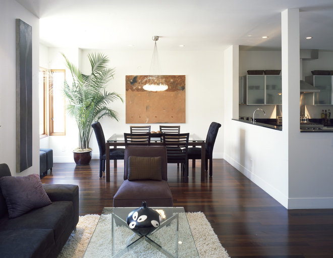Contemporary Dining Room by John Lum Architecture, Inc. AIA