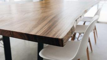 Monkeypod Live Edge Dining Table
