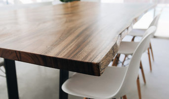 Monkeypod Live Edge Dining Table