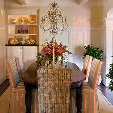 Beach Style Dining Room by Debra Lynn Henno Design