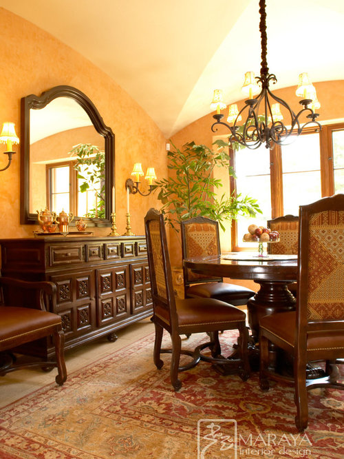 Italian tuscan spanish mediterranean french for Dining room questionnaire
