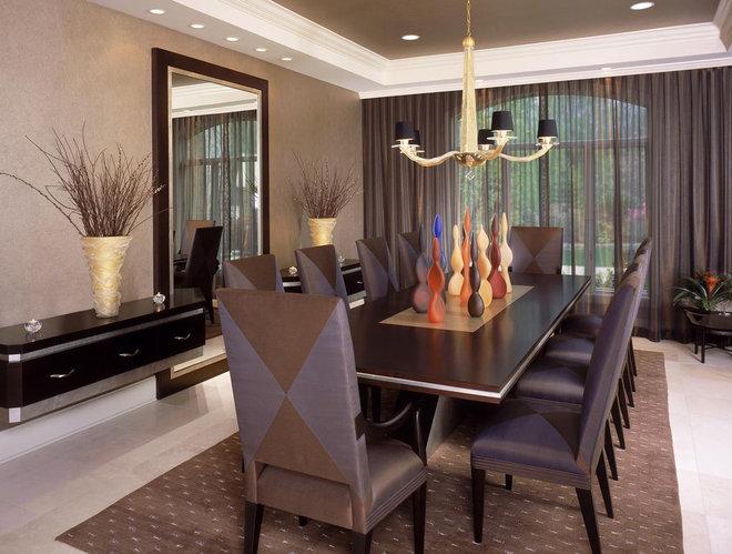 Modern Dining Room by Jorge Castillo Design Inc.