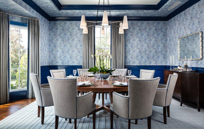 New This Week: 10 Delicious Dining Rooms