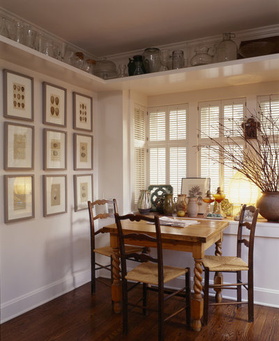 Traditional Dining Room by Hoedemaker Pfeiffer